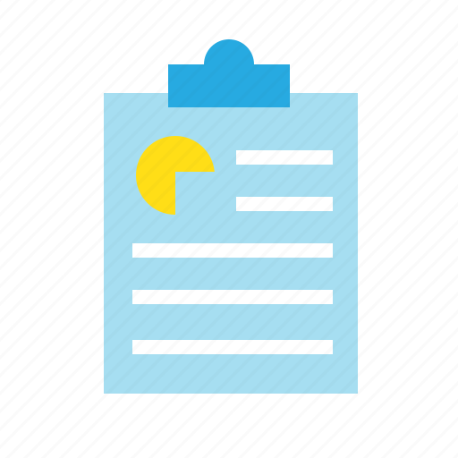 business, document, file, finance, paper, report icon