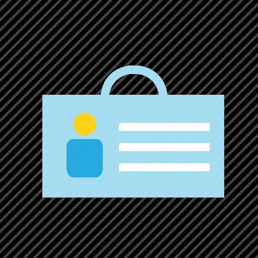 business, card, id card, identity, marketing icon