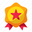 award, medal, promote, reward, star