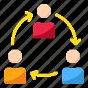 collaboration, employer, organization, sharing, teamwork
