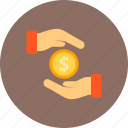 bribe, cash, currency, donation icon