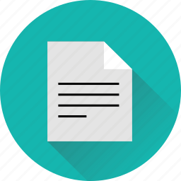 business, doc, document icon