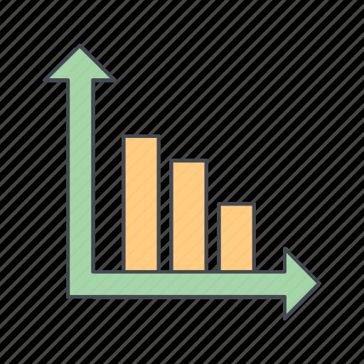 analysis, bar chart, graph icon