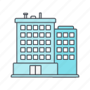 building, hotel, office, real estate icon
