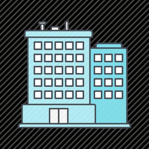 building, hotel, real estate icon