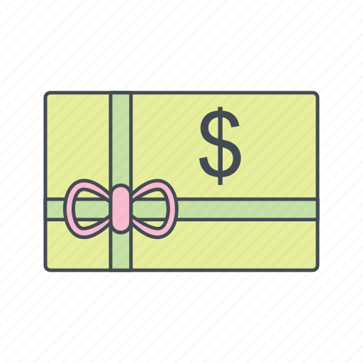business, coupon, voucher icon