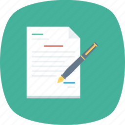 contract, feedback, form inquiry icon icon