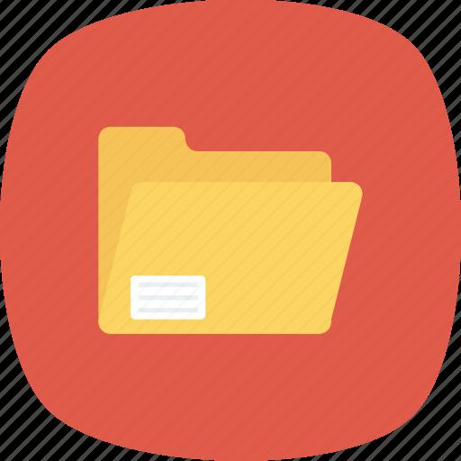 data, doc, documents, folder, open icon icon