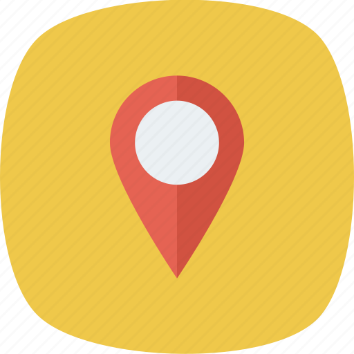 direction, gps, location, map, marker, navigation, pin icon icon
