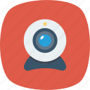 camera, chat, conference, facetime, photography, video, webcam icon icon