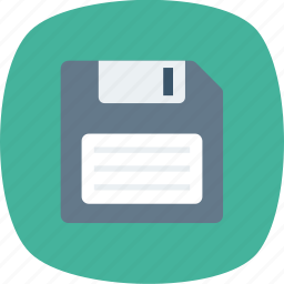 data, disk, diskette, drive, floppy, floppy disk, floppy disk drive icon icon
