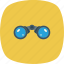 binoculars, search icon, business, scan