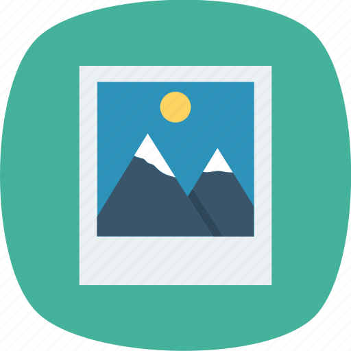 gallery, image, photo, picture icon icon
