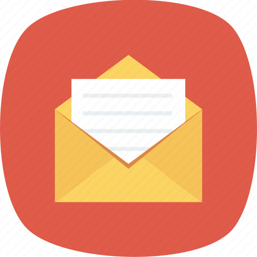 email, mail, open icon icon