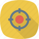 crosshair, shoot, target icon icon
