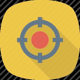 crosshair, shoot, target icon icon