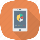 analytics, analytics app, app, mobile, report icon icon