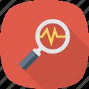 analysis, business, diagnostic, search icon icon