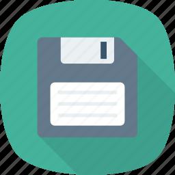 disk, diskette, floppy, floppy disk, floppy disk drive icon icon