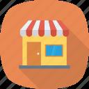market, open, shop, store icon
