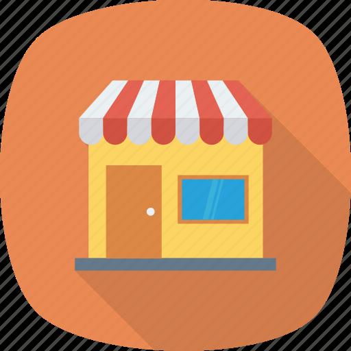 market, open, shop, store icon icon