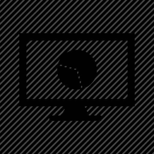 chart, marketing, online icon