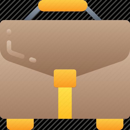 briefcase, business, case, documents, suit case icon