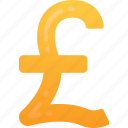 business, currency, finances, money, pound, sign icon