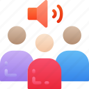 audio, business, conference, link, phone icon