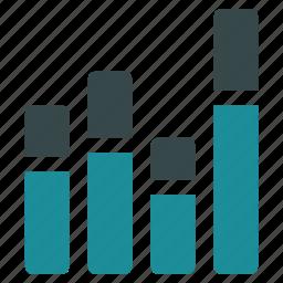 analysis, analytics, bar chart, charts, diagram, graph, graphs icon