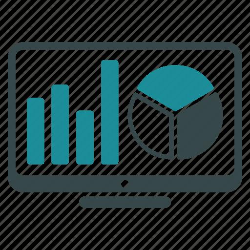 analysis, analytics, charts, diagram, display, graph, graphs icon