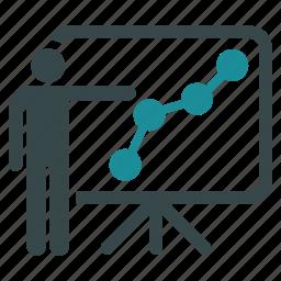 analysis, charts, diagram, presentation, progress, reports, sales chart icon