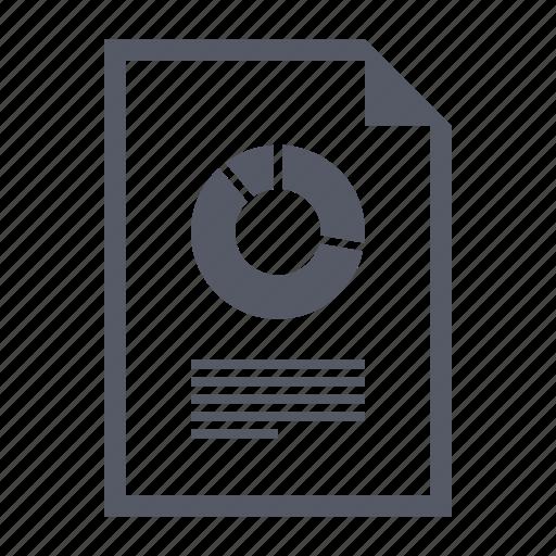 analytics, chart, data, financial report icon