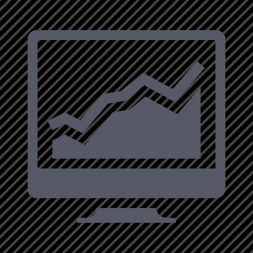 data, graph, report, web analytics icon