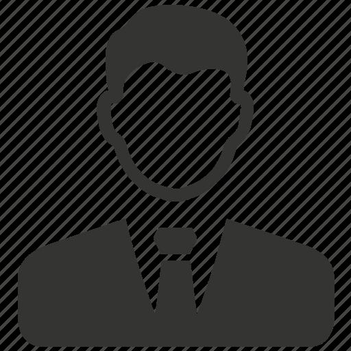 businessman, male, man, user icon