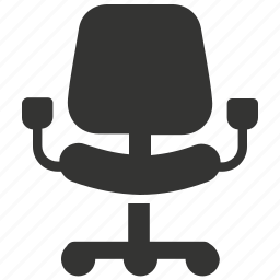 business, chair, office chair, seat icon