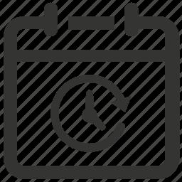 agenda, calendar, deadline, event, schedule icon