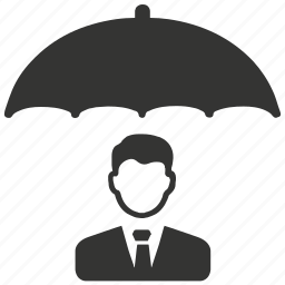 business, insurance, protection, security, umbrella icon