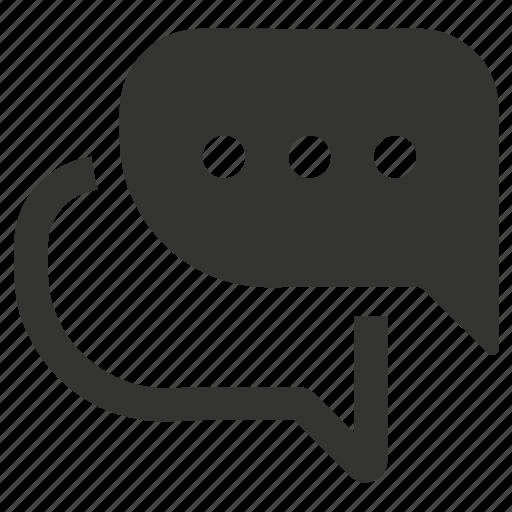 bubble, chat, communication, conversation icon