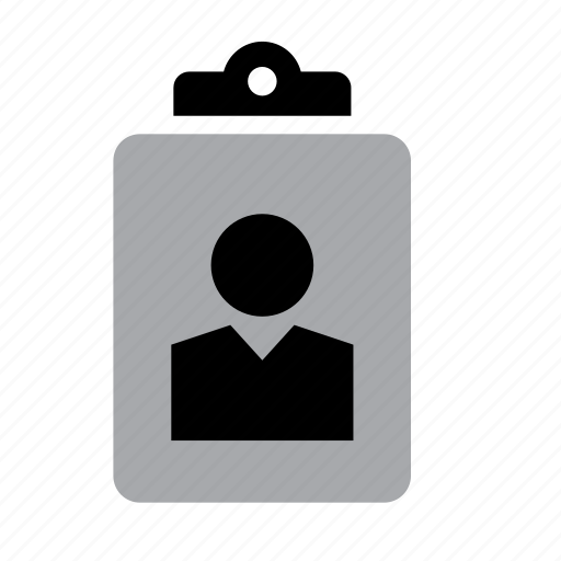 business, card, id, identification, identity, job, work icon