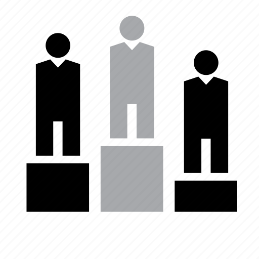 business, job, man, people, podium, work, worker icon