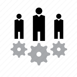 business, cog, gear, job, wheel, work, worker icon