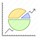 analytics, chart, data, graph, report icon