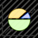 analytics, chart, data, graph, report