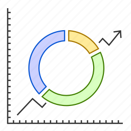 analytics, chart, data, graph, report icon