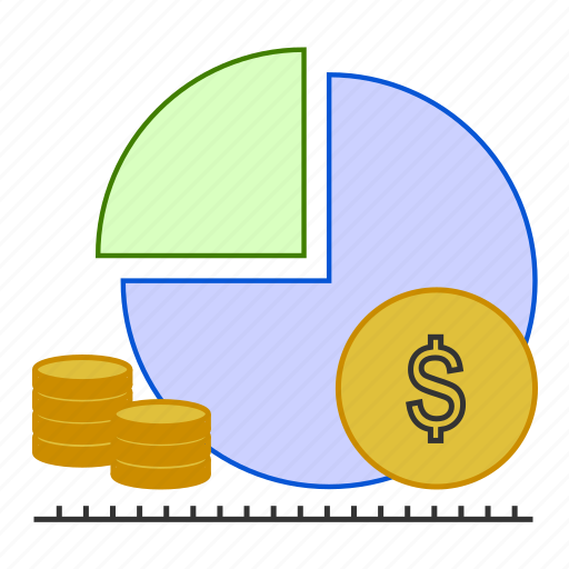 business, currency, graph, money, sharing icon