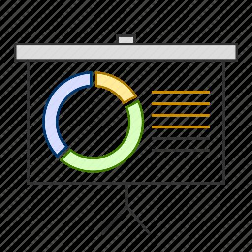 analytics, chart, graph, presentation, report icon