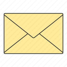 communication, contact, email, envelop, mail icon