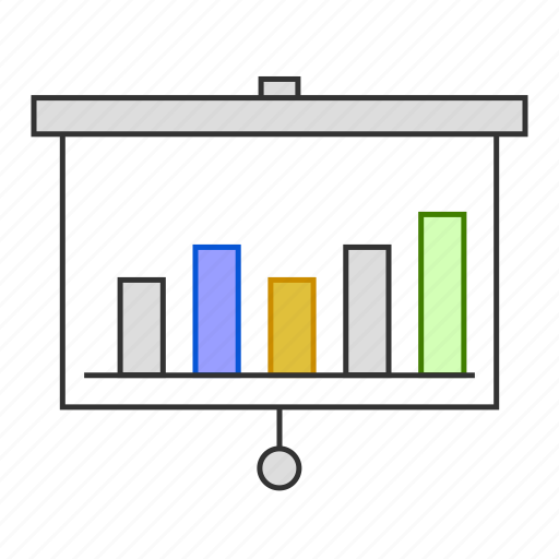 anlytics, business, chart, graph, presentation, report icon
