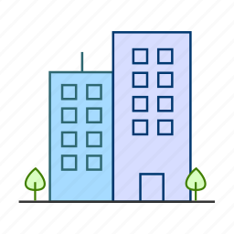 building, business, corporate, it park, office icon